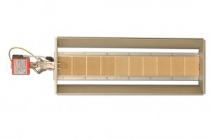 Gas fired ceramic infrared heater 14.5 kW SBC10