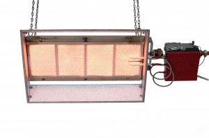 Gas fired ceramic infrared heater 5.5 kW SBC4