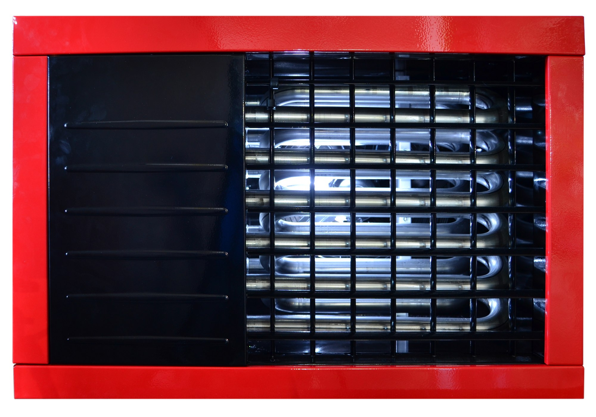 Nagrzewnica gazowa powietrza czerwona 18 kW